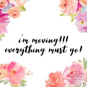 Accessories - I'm moving!!!